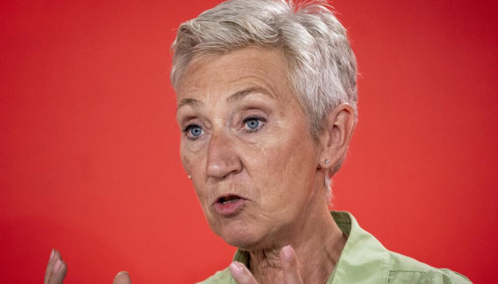 KRITISK: LO-leder Peggy Hessen Følsvik. Foto: Ole Berg-Rusten / NTB