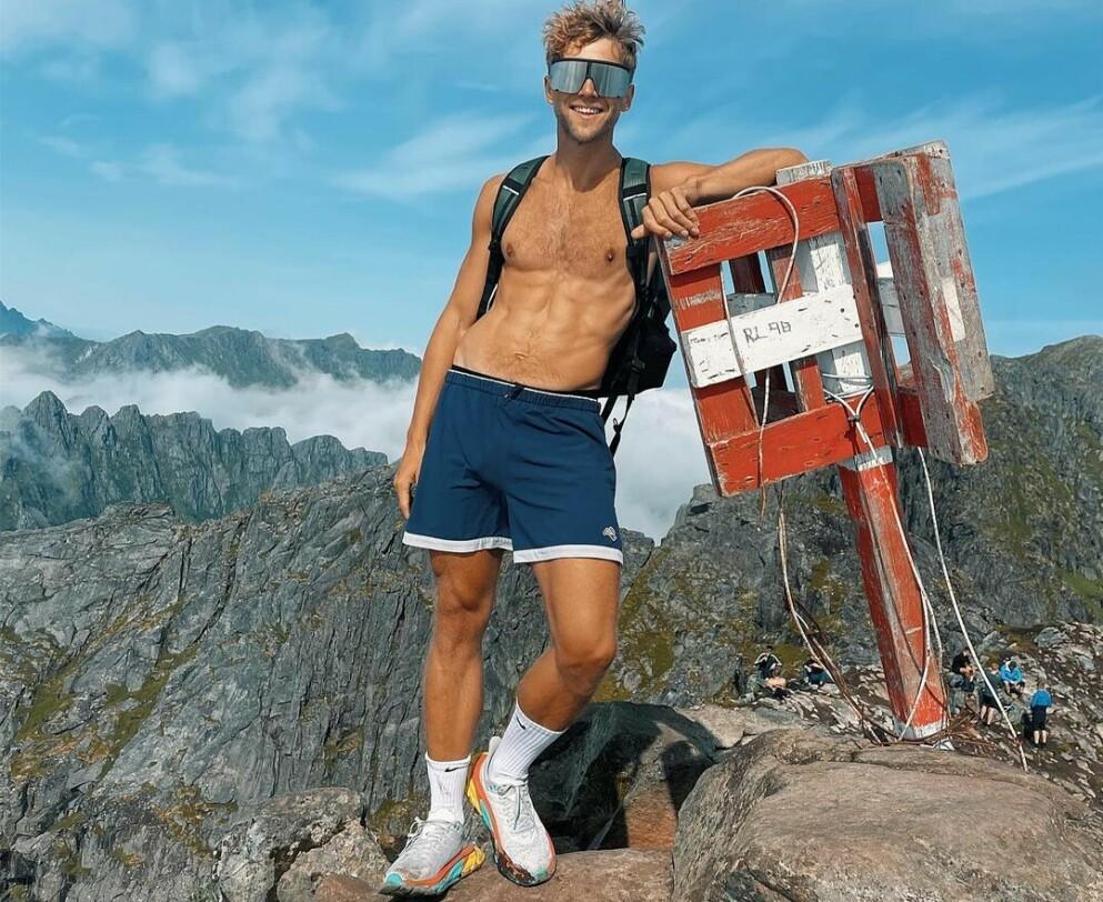 """VENDEPUNKT: Da det gikk opp for Daniel Kvammen at livet ikke var slik han ønsket, gjorde han noen endringer som fikk stor betydning - både for kropp og sjel. Foto: Privat, """"Danielkvammen"""