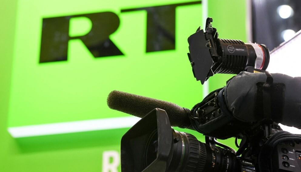 UTESTENGT: Youtube har utestengt den russiske mediegiganten etter feilinformasjon om corona. Foto: AFP/NTB.