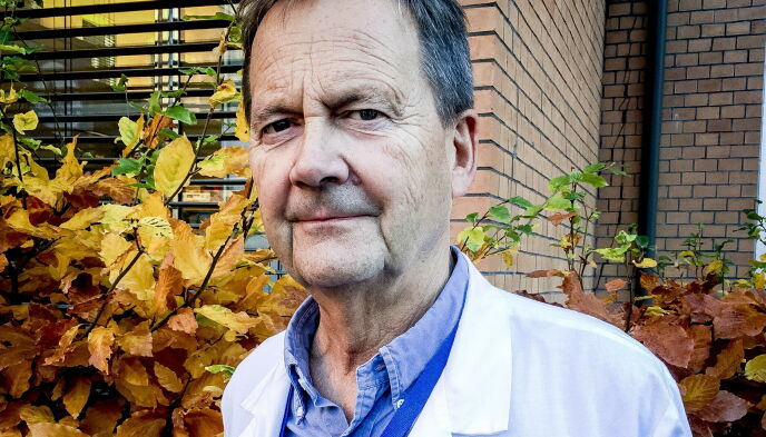 AVDELINGSLEDER: Dag Jacobsen ved Ullevål sykehus. Foto: Terese Doksheim Skaug / Dagbladet