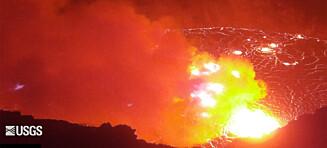 Advarer mot farlig utbrudd: - Et rush av tilskuere