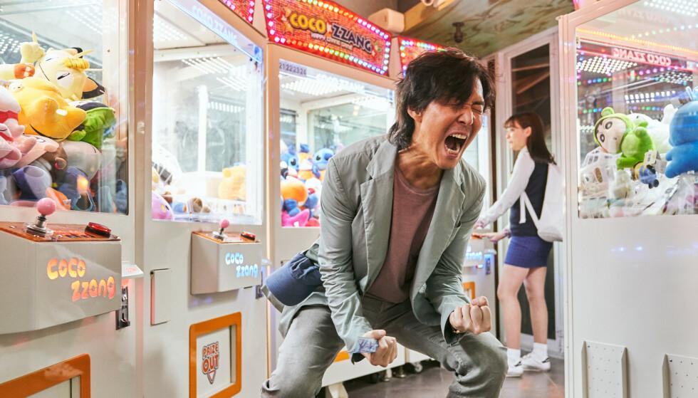 Vechten: De hoofdpersoon, Lee Jung-jae, is een werkloze man met een gokprobleem die moeite heeft om het respect van zijn familie te verdienen.  Afbeelding: Netflix.
