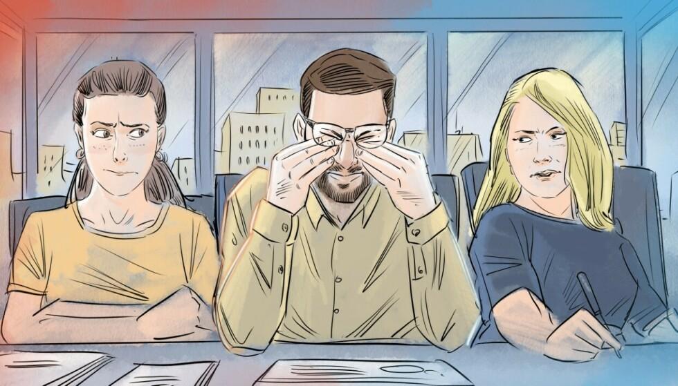 SELVTILLIT SVEKKES: Det å bli utsatt for en energityv kan svekke både selvfølelsen og selvtilliten. Illustrasjon: Fedor Sapegin.