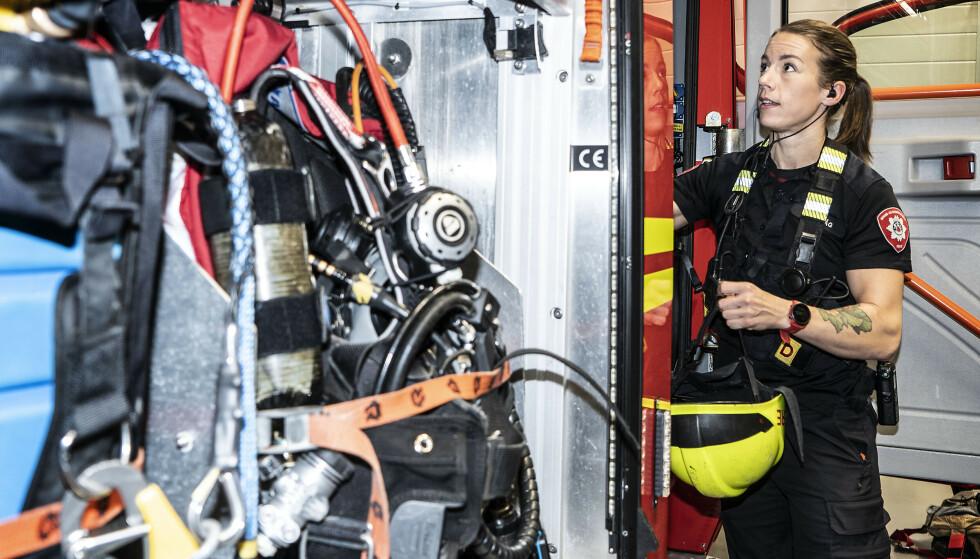 KLARTE IKKE KRAVENE: Topptrente Ingunn Selvåg klarte ikke alle kravene Arbeidstilsynet mener skal kunne avgjøre om hun er skikket som røyk- og kjemikaliedykker. Foto : Hans Arne Vedlog / Dagbladet