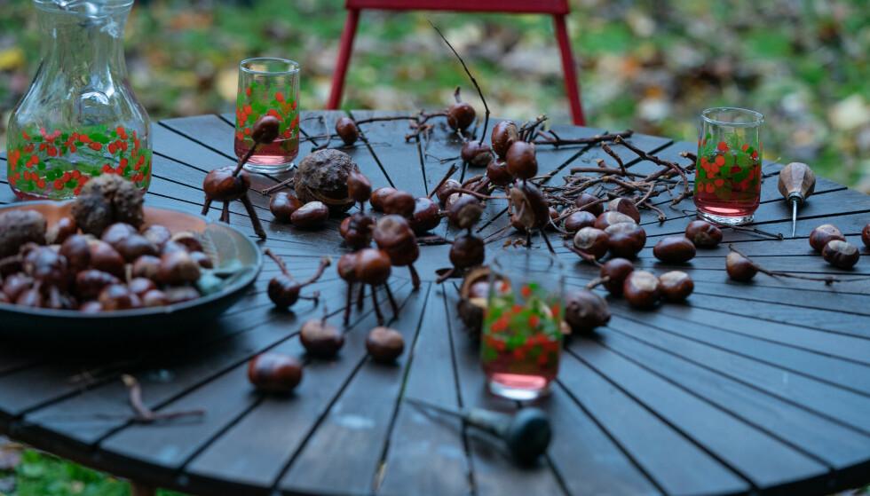 NØTTEKRIM: Kastanjemenn etterlates der det er begått drap. Foto: netflix