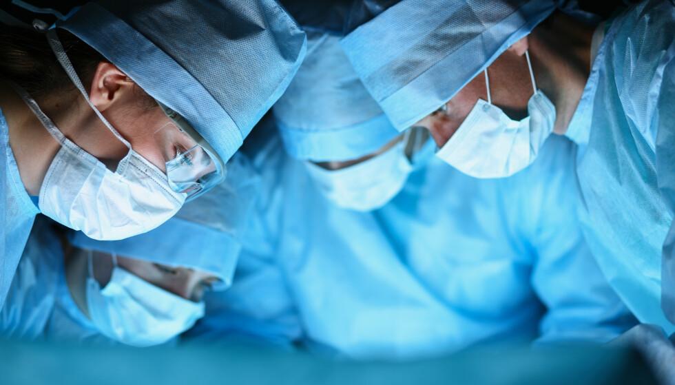 ILLUSTRASJONSFOTO: Kirurgene ble overrasket da de innså hva mannen hadde i hjertet. Foto: Shutterstock