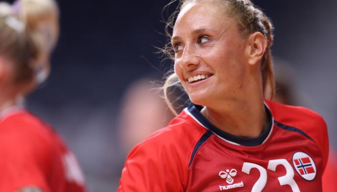 GLEDER SEG: Camilla Herrem gleder seg til å møte Iran i VM. Foto: Bjørn Langsem / Dagbladet