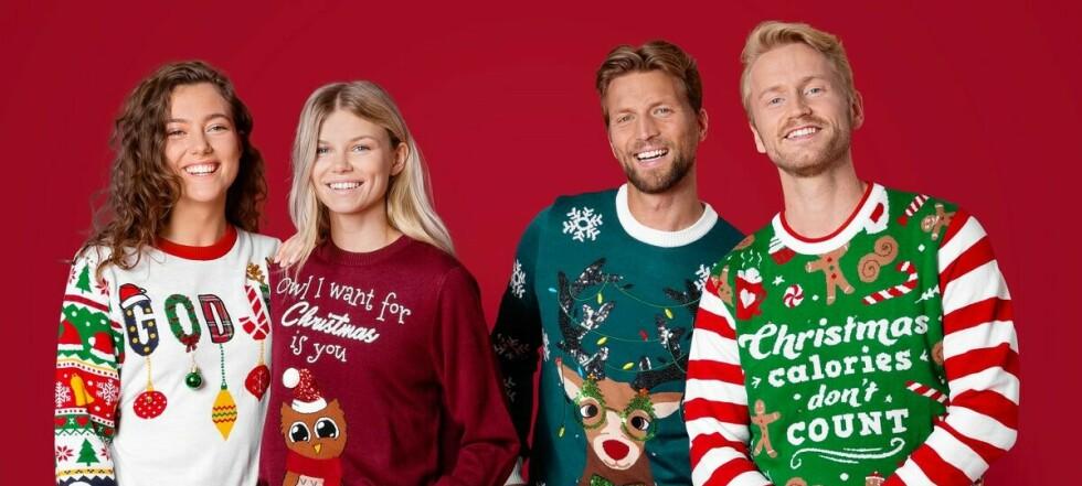 Her er årets fineste julegensere og julepysjer