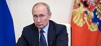 Putin vender det andre kinnet til