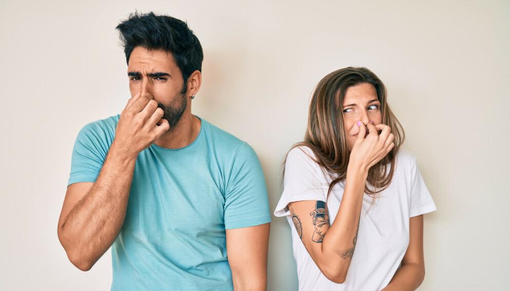 LUFTIG: Personer som promper og raper mye, er ifølge denne studien oftere stressa og deprimerte. Illustrasjonsfoto: Shutterstock