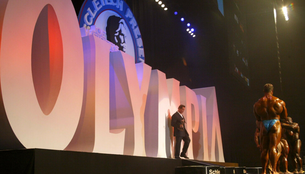 FUNNET DØD: Det var i forkant av konkurransen Mr. Olympia at George Peterson ble funnet død. Her fra en tidligere anledning. Foto: MB Pictures / REX / NTB