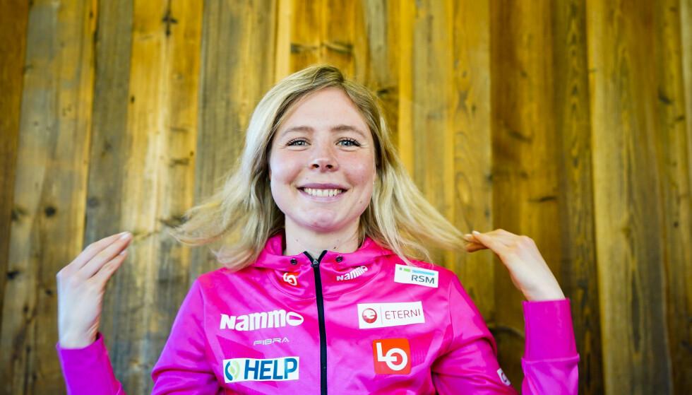 FIKK TEKSTMELDING: Maren Lundby forteller til Dagbladet at hun personlig har fått en beklagelse fra Emil Iversen. Foto: Lise Åserud / NTB