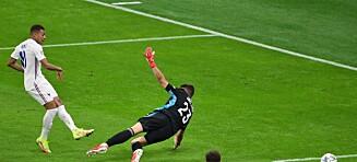 Omdiskutert mål da Frankrike slo Spania