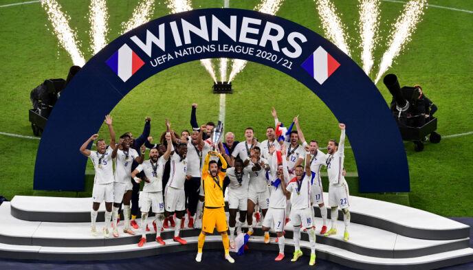 NATIONS LEAGUE-VINNER: Frankrike. Foto: REUTERS/Miguel Medina/NTB