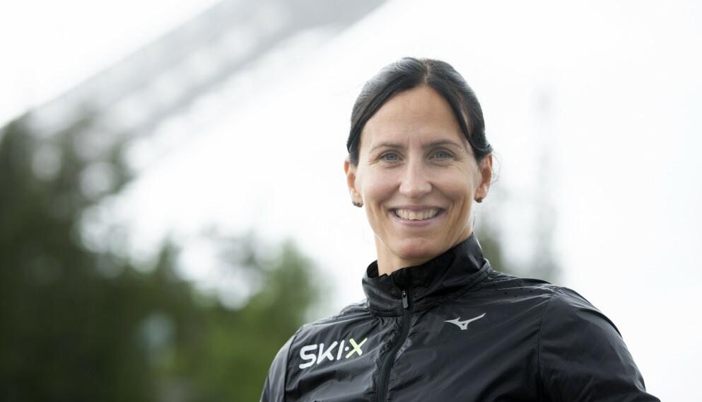 BOKAKTUELL: Marit Bjørgen hadde stor suksess med ski på beina. Nå kommer biografien om hele Norges skihelt. Foto: Berit Roald / NTB