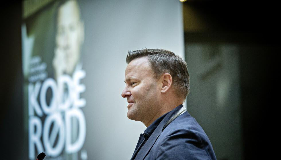 HETS: Nakstad forteller at han har lært at sosiale medier ikke egner seg for å diskutere pandemi. Foto: Nina Hansen / Dagbladet