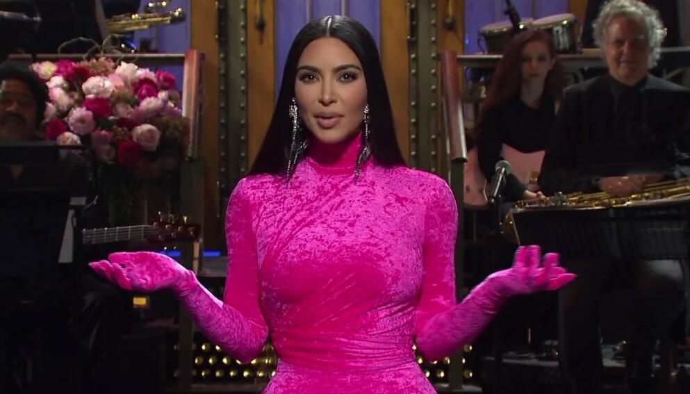 SNL-VERT: Kim Kardashian ledet «Saturday Night Live» i helga. Foto: Ruba/Backgrid/NTB