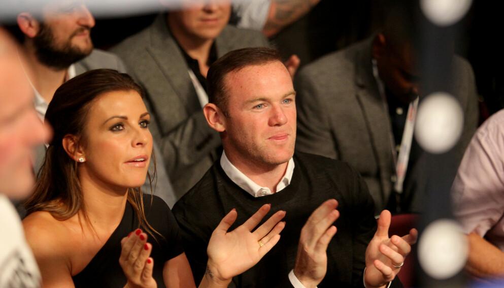 TURBULENT: Forholdet mellom Wayne Rooney og kona Coleen har til tider vært turbulent. Foto: Richard Sellers/PA Wire