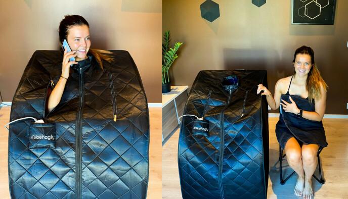 Nettbutikken Behagly har mange fornøyde kunder som har bestilt SaunaBox.