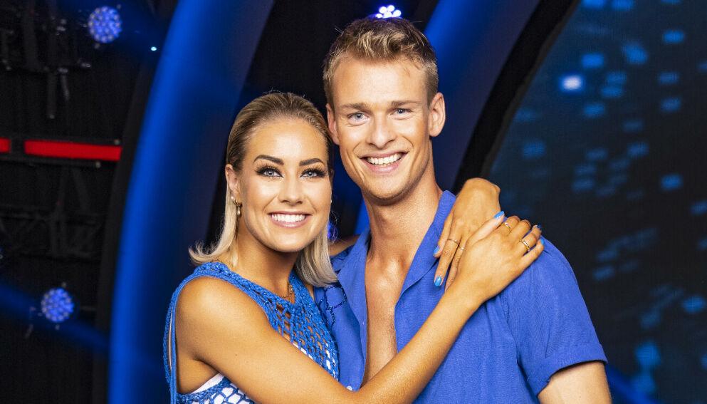 PARTNERE: Helene Spilling og Simon Nitsche har imponert på parketten som dansepartnere. Foto: Tor Lindseth/Se og Hør
