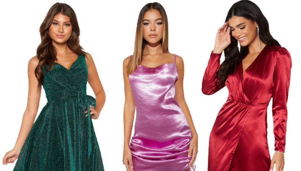 Kjoler til julebord, julaften og nyttårsaften
