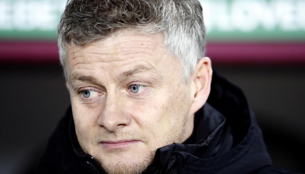 SKUFFET: Ole Gunnar Solskjær er inne i en tøff periode med Manchester United. FOTO: Martin Rickett / PA