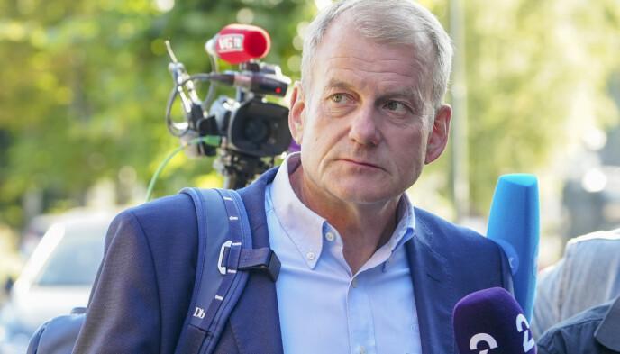 SKIPRESIDENT: Erik Røste. Foto: Ali Zare / NTB