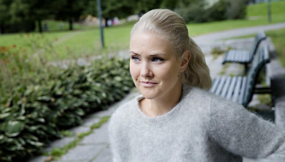 I SJOKK: Det er mange som har blitt påvirket etter hendelsene på Kongsberg onsdag kveld. Silje Norendal, som selv er fra Kongsberg, er blant dem som sender sine tanker til de berørte. Foto: Kristian Ridder-Nielsen / Dagbladet