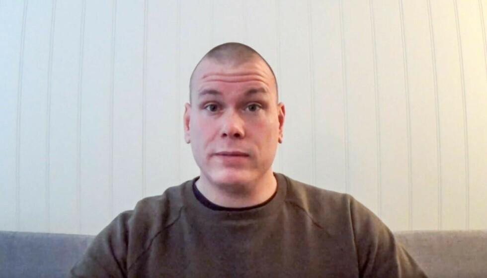 SIKTET: Espen Andersen Bråthen er siktet for det PST kategoriserer som terror, etter at fem personer ble drept i Kongsberg onsdag. Foto: Privat