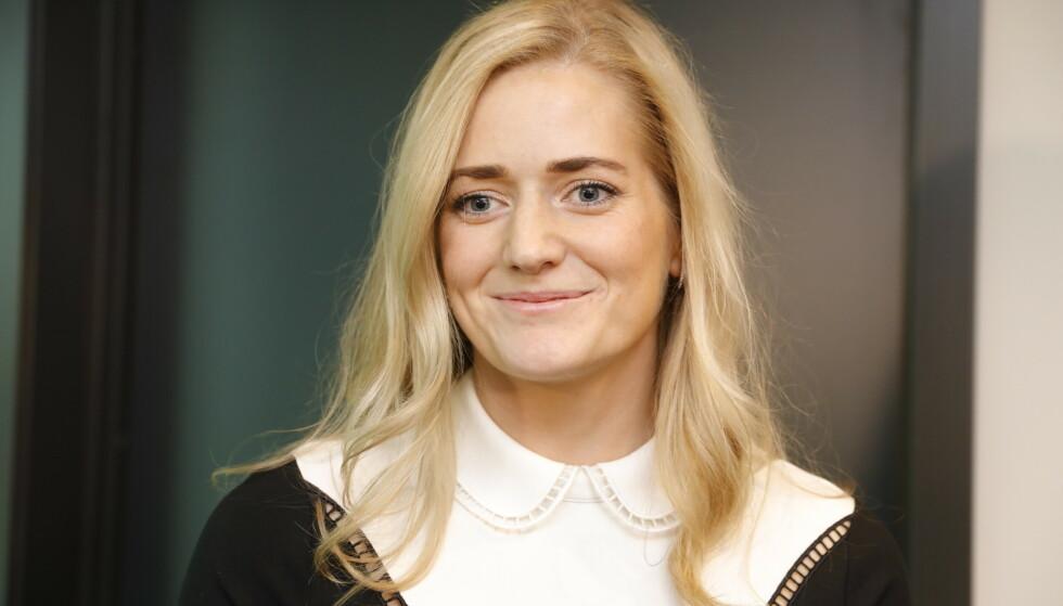 NY JUSTISMINISTER: Emilie Enger Mehl fra Senterpartiet er regjeringens yngste statsråd. Foto: Nina Hansen / DAGBLADET