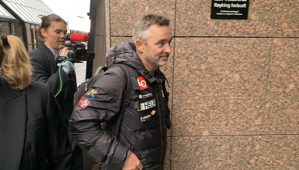 SPENT: Clas Brede Bråthen sier han er spent før møte med Norges Skiforbund. Foto: Tore Ulrik Bratland / Dagbladet