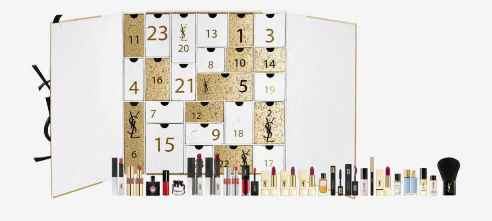 20 fantastiske kalendere med skjønnhet og kosmetikk