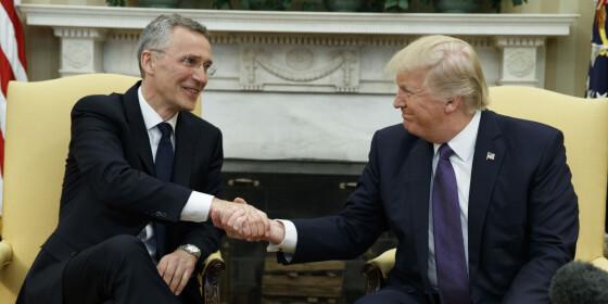 Image: Derfor tok Stoltenberg oppgjør med Trump