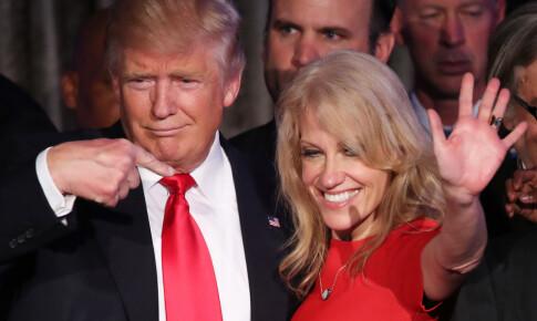 Image: Bryter med Trump