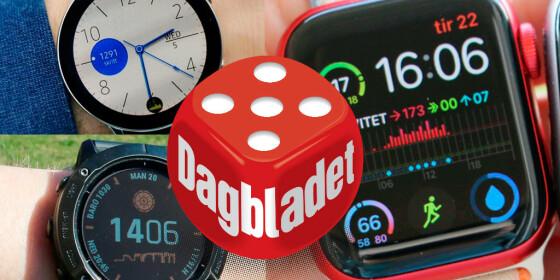 Image: Puster Apple Watch i nakken
