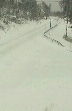 Image: 18 centimeter snø!