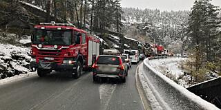 Image: Alvorlig ulykke: - Kaotisk