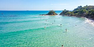 Image: Australias mest kjente strand forsvinner