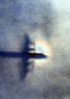 Image: Nye spor etter «spøkelsesflyet»