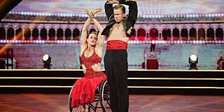 Image: Birgit er ute av dansen