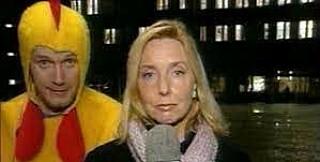 Image: Familien gråt under kyllingstuntet