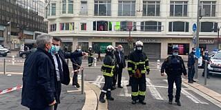 Image: Politiet: Fikk halsen skåret over i knivangrep i Nice