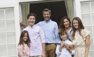 Image: Kronprinsfamilien flytter