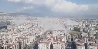 Image: Hellas og Tyrkia rammet av jordskjelv