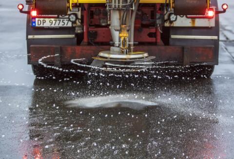 Image: Farevarsel: - Regnet kan fryse