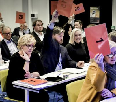 Image: «Mange sitter stille nå»