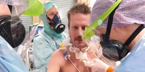 Image: Kent (47): Lå 61 dager i respirator