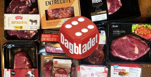 Image: Entrecôte: - For et stykke kjøtt!