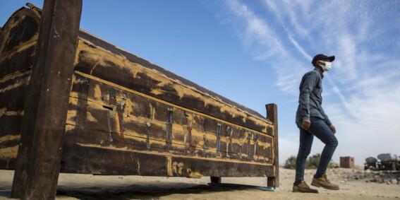 Image: Egypt: - Vi må skrive om historien