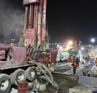 Image: Sendte lapp fra gruva